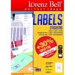 Etiquetas Lorenz Bell 70 x 25.4 mm - 100 Folhas