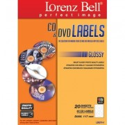 CD&DVD Labels Glossy - 40 Etiquetas