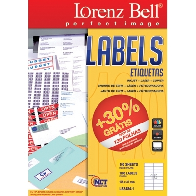 Lorenz bell labels 105 x 37 mm 100 sheets lorenz bell information request lb3484 1 template lorenz bell reheart Images