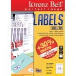 Lorenz Bell Labels 70 x 36 mm  100 Sheets