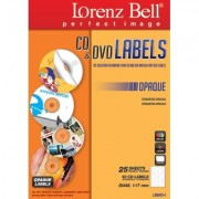 CD&DVD Labels Opaque - 50 Labels