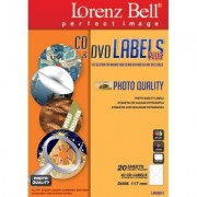 CD&DVD Labels PLUS Plus Photo Quality - 40 Labels