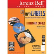 CD&DVD Labels Plus Opaque Applicator - 100 Labels