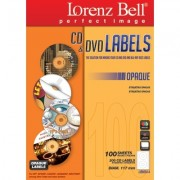 CD&DVD Labels Opaque - 200 Labels