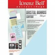 Bristol Boards 250 g/m2 A4 - 5 Cores sortidas