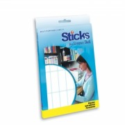 Etiquetas Multiusos Sticks 19x50mm - 20 Folhas A5