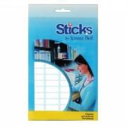 Sticks Multipurpose Labels 8x20mm - 5 A6 Sheets