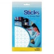 Sticks Multipurpose Labels Diam: ø12.5mm - 5 A6 Sheets