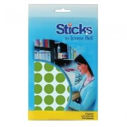Etiquetas Multiusos Sticks Diam: ø16 mm - 6 Folhas A6